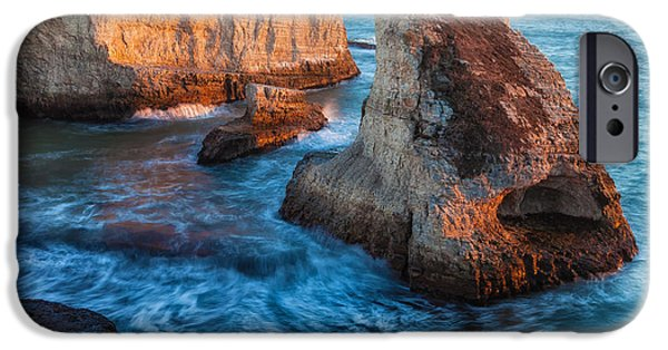 Beach Landscape iPhone Cases - Claw Rock iPhone Case by Jonathan Nguyen