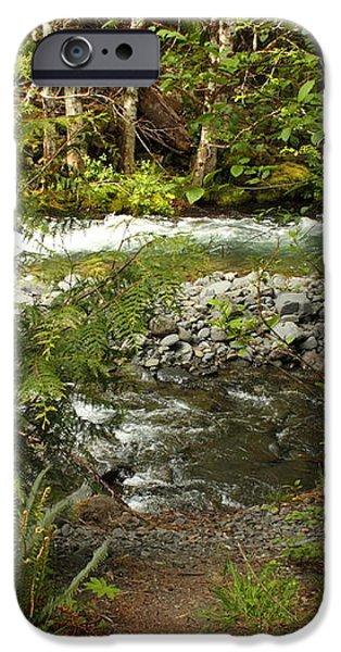 Clear Mountain Stream iPhone Case by Carol Groenen