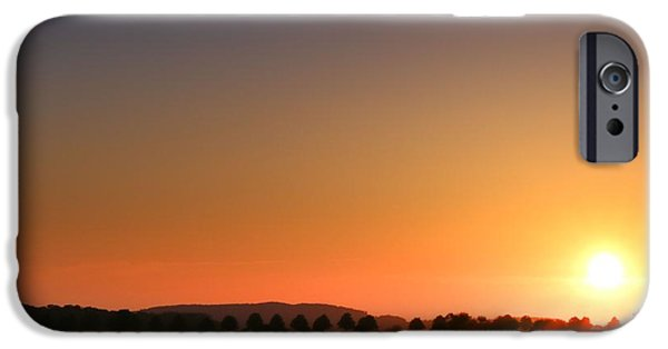 Crops iPhone Cases - Clear Sunset iPhone Case by Franziskus Pfleghart