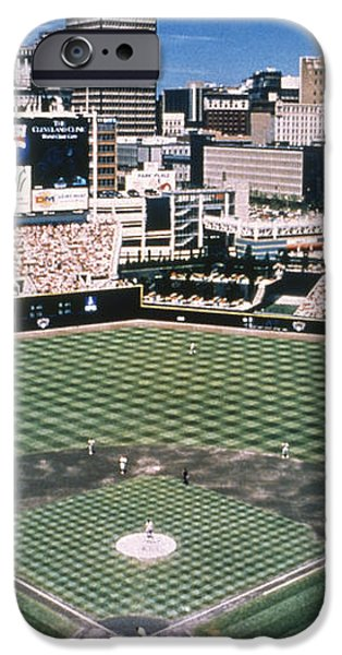 CLEVELAND: JACOBS FIELD iPhone Case by Granger
