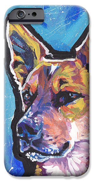 Cattle Dog iPhone Cases - Click Your Red Heels iPhone Case by Lea