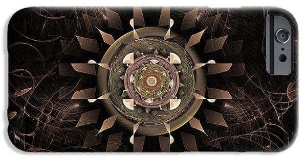Clockwork iPhone Cases - Clockwork iPhone Case by John Edwards