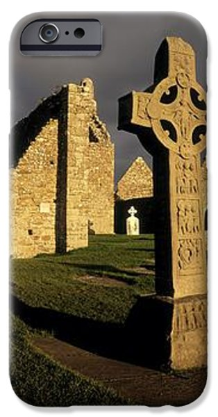 Clonmacnoise Monastery, Co Offaly iPhone Case by The Irish Image Collection