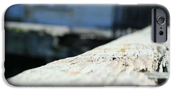 Popular iPhone Cases - Close Up Bench iPhone Case by Joshua Sunday