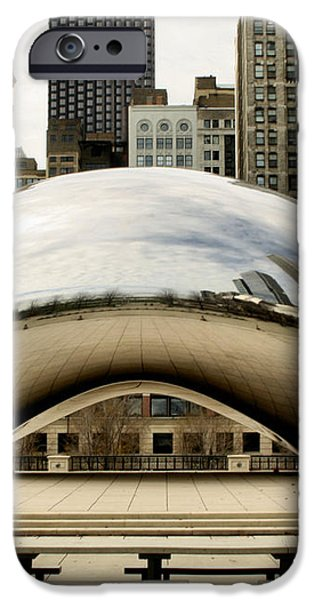 Cloud Gate - 3 iPhone Case by Ely Arsha