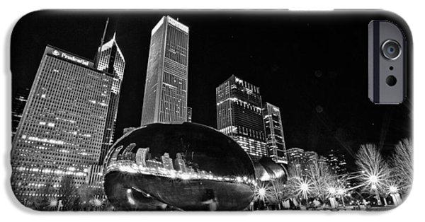 Cj iPhone Cases - Cloud Gate iPhone Case by CJ Schmit
