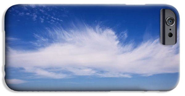 North Sea iPhone Cases - Cloud Impression iPhone Case by Angela Doelling AD DESIGN Photo and PhotoArt