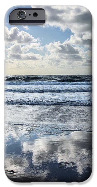 North Sea Photographs iPhone Cases - Cloud Nine iPhone Case by Steffi Louis