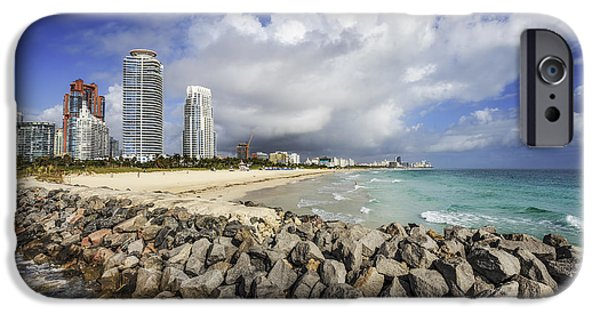 Recently Sold -  - Buildings iPhone Cases - Cloudburst iPhone Case by Evelina Kremsdorf