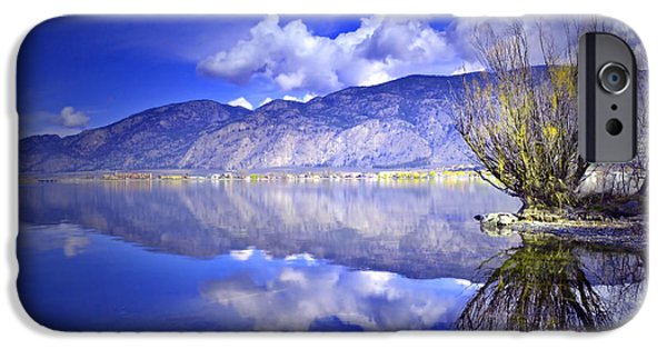 Willow Lake iPhone Cases - Clouds and Clarity iPhone Case by Tara Turner