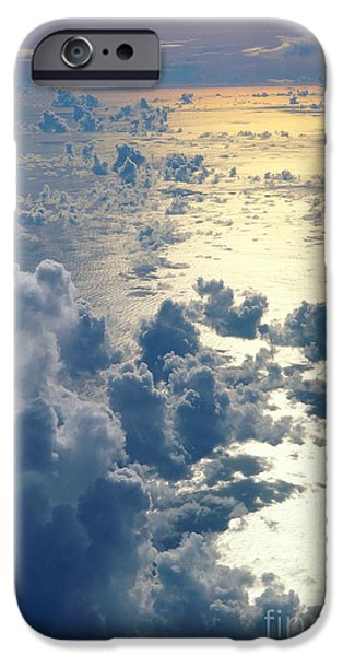 Clouds Over Ocean iPhone Case by Ed Robinson - Printscapes