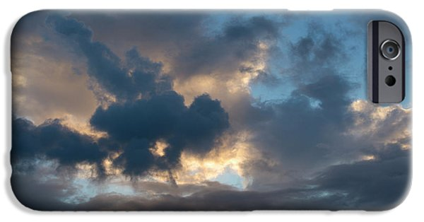 Dave iPhone Cases - Cloudscape XII iPhone Case by David Gordon