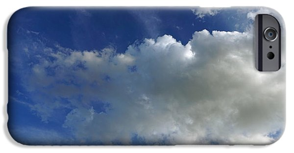 Mist iPhone Cases - Cloudy Evening iPhone Case by David G Paul