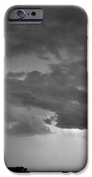CO Cloud to Cloud Lightning Thunderstorm 27 BW iPhone Case by James BO  Insogna