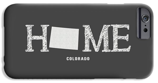 Fort Collins Mixed Media iPhone Cases - CO Home iPhone Case by Nancy Ingersoll
