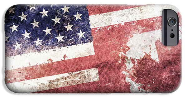 4th July iPhone Cases - Co-Patriots  iPhone Case by Az Jackson