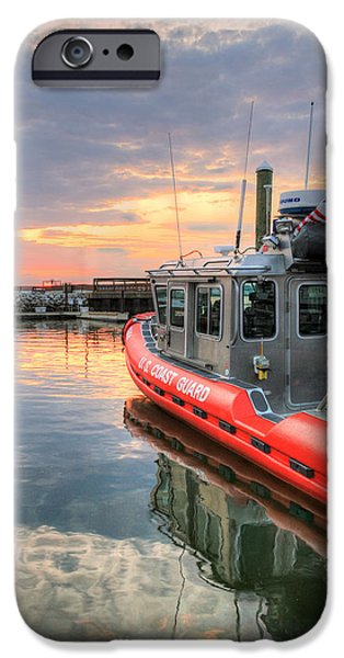 Patriotic Photographs iPhone Cases - Coast Guard Anacostia Bolling iPhone Case by JC Findley