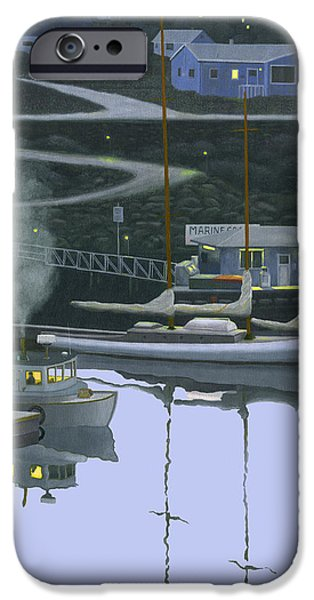 Trawler iPhone Cases - Coastal Daybreak iPhone Case by Gary Giacomelli
