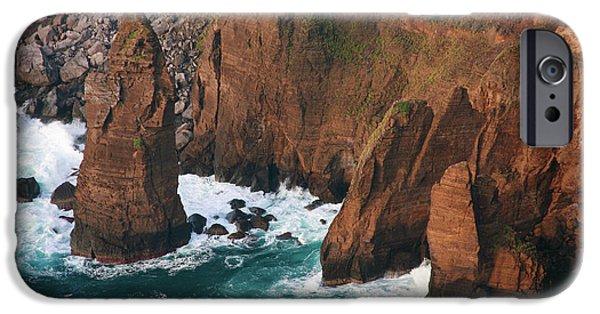 Redish iPhone Cases - Coastal detail iPhone Case by Gaspar Avila