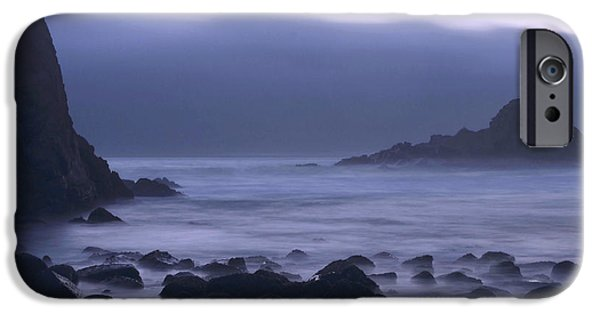 Pfeiffer Beach iPhone Cases - Coastal Fog - Big Sur iPhone Case by Stephen  Vecchiotti