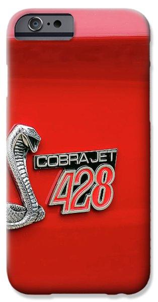Cobra Jet 428 iPhone Case by Gordon Dean II