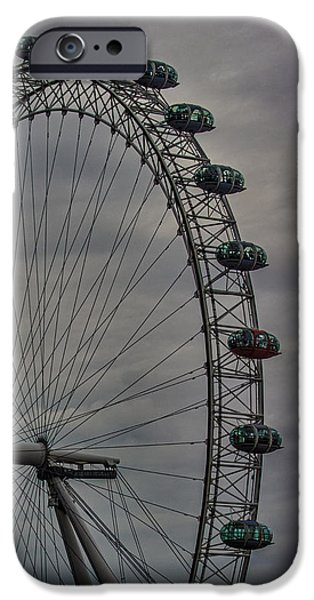 Capsule iPhone Cases - Coca Cola London Eye iPhone Case by Martin Newman