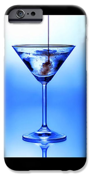 Cocktail Triptych iPhone Case by Jane Rix