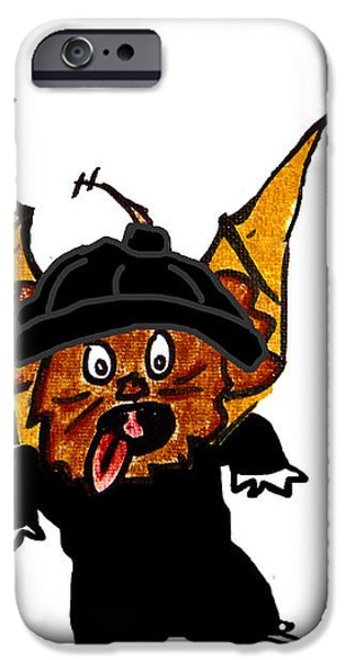 Coco as Thief iPhone Case by Jera Sky