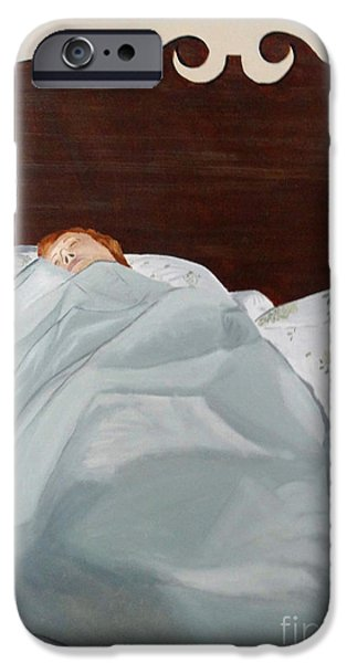 Sheets iPhone Cases - Cocoon iPhone Case by Lyric Lucas