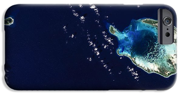 Planet Earth iPhone Cases - Cocos Islands iPhone Case by Adam Romanowicz