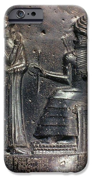 CODE OF HAMMURABI. iPhone Case by Granger