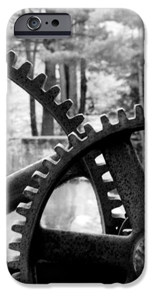 Cogs iPhone Case by Greg Fortier