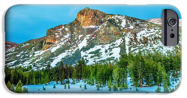 Morning iPhone Cases - Cold Mountain iPhone Case by Az Jackson
