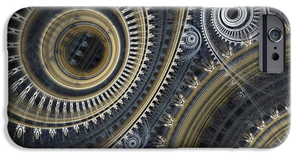 Technical iPhone Cases - Cold steel iPhone Case by Martin Capek