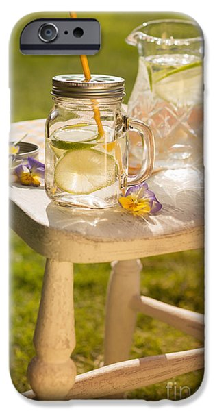 Summer iPhone Cases - Cold Summer Drinks iPhone Case by Amanda And Christopher Elwell