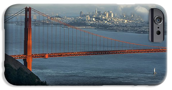 Bay Bridge iPhone Cases - Coldest Summer iPhone Case by Sean Foster