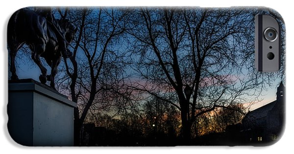 Colonial Parkway iPhone Cases - Colonial Aurora  iPhone Case by Chris Bordeleau