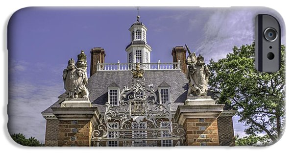 American Revolution iPhone Cases - Colonial Williamsburg  v2 iPhone Case by John Straton