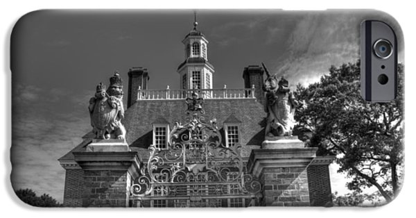 American Revolution iPhone Cases - Colonial Williamsburg V2b iPhone Case by John Straton