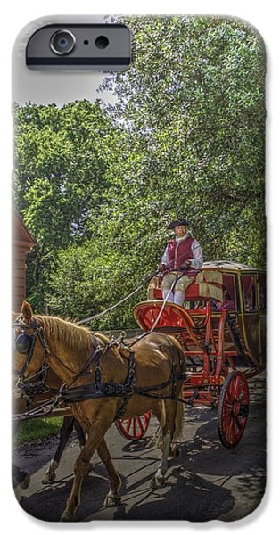 Village iPhone Cases - Colonial Williamsburg  v4 iPhone Case by John Straton