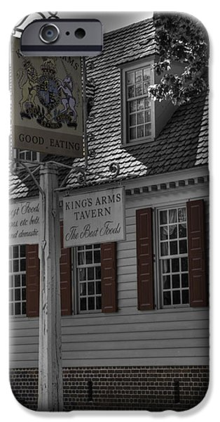 American Revolution iPhone Cases - Colonial Williamsburg  v5 iPhone Case by John Straton