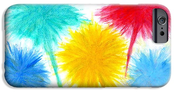 Recently Sold -  - Pastel iPhone Cases - Color Burst 1 iPhone Case by Roberto Concha