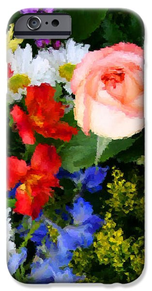 Color Explosion iPhone Case by Kristin Elmquist