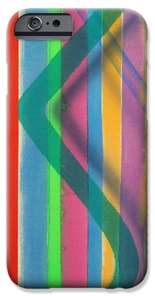 Painter Photo Paintings iPhone Cases - Color Field No. 6  Series Color Fields one o one iPhone Case by Thomas Kawall