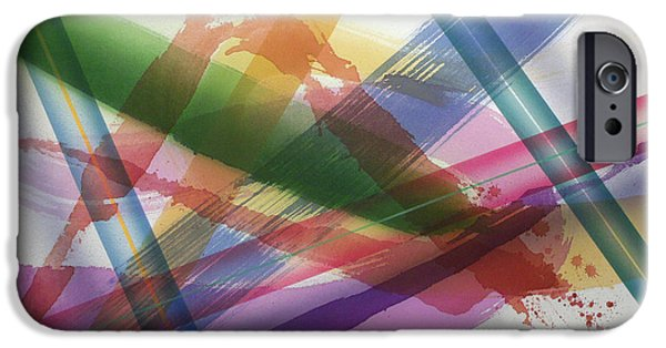 Painter Photo Paintings iPhone Cases - Color Field No.10 Series Color Fields one o one iPhone Case by Thomas Kawall