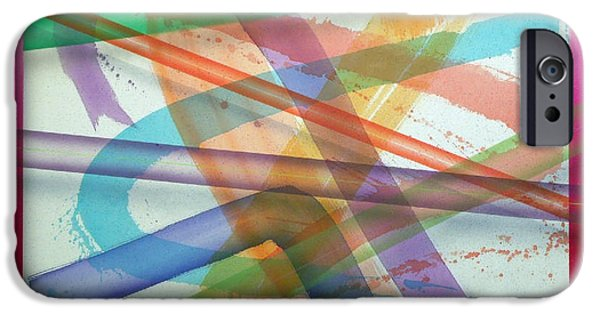Painter Photo Paintings iPhone Cases - Color Field No.11 Series Color Fields one o one iPhone Case by Thomas Kawall