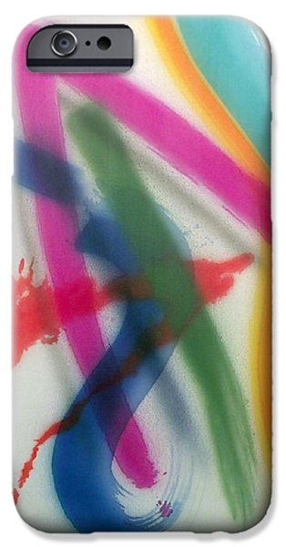 Painter Photo Paintings iPhone Cases - Color Field No.5 Series Color Fields one o one iPhone Case by Thomas Kawall