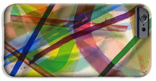 Painter Photo Paintings iPhone Cases - Color Field No.8 Series Color Fields one o one iPhone Case by Thomas Kawall