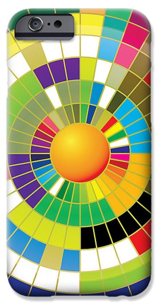Color Wheel iPhone Case by Gary Grayson