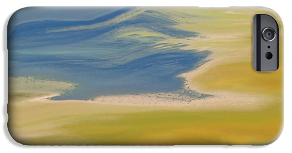 Abstract Expressionist iPhone Cases - Colorado Dreams iPhone Case by Lenore Senior